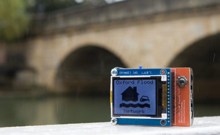 Nominet and Love Hz use the Internet of Things for flood detection