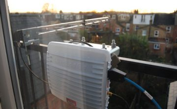 Nominet's TV White Space link is active: 13Mbps down and 3Mbps up!
