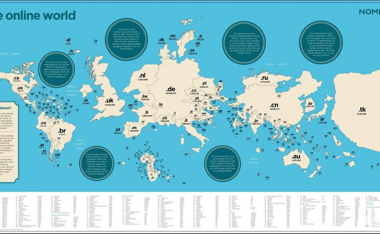 Mapping the online world