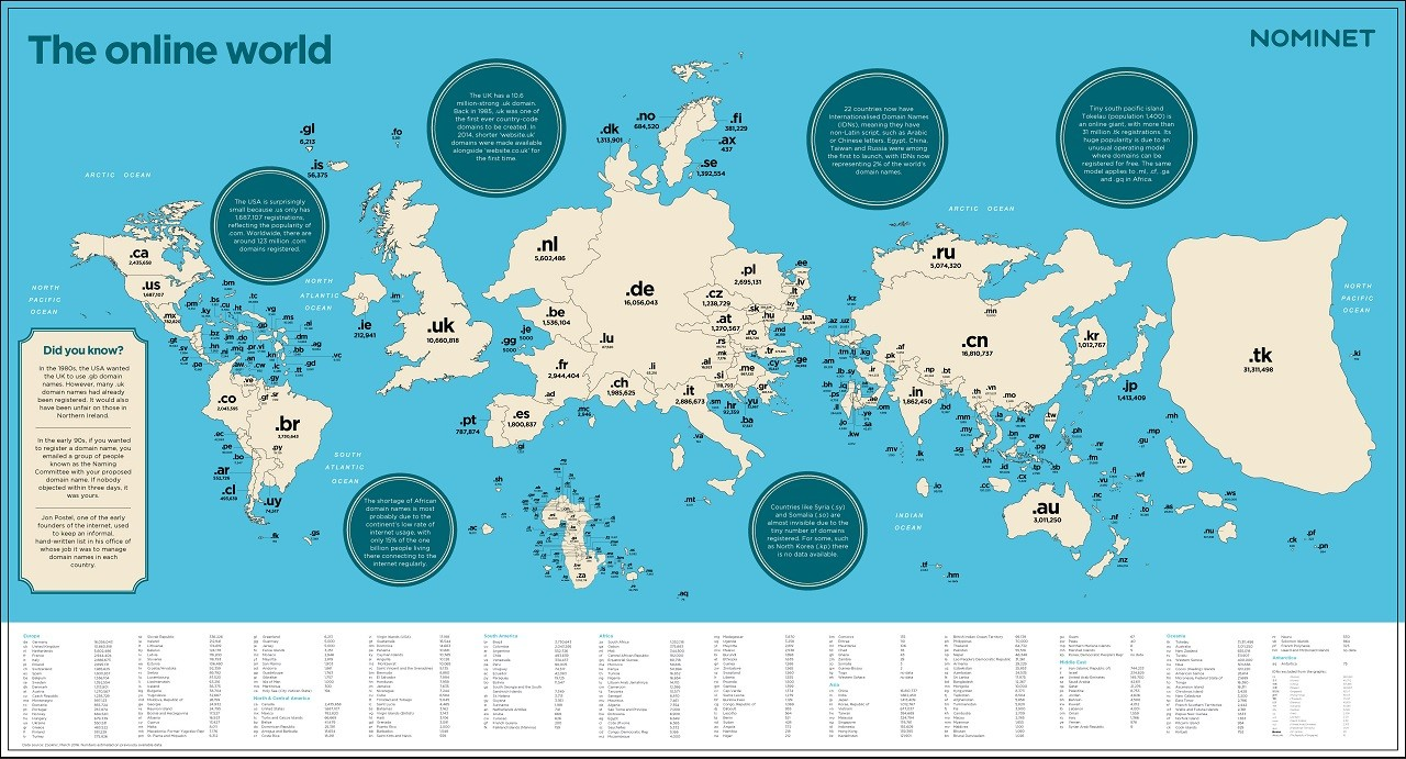 Location Of Uk On World Map.Mapping The Online World Nominet