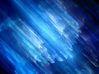 Smokey blue effect