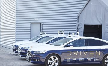 New driverless cars milestone achieved as DRIVEN shows off vehicles interacting for first time
