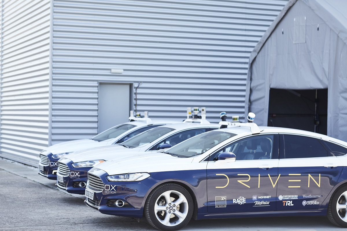 Picture of DRIVEN driverless cars