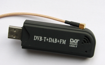 Using commodity USB software-defined radio modules as an RF debug tool