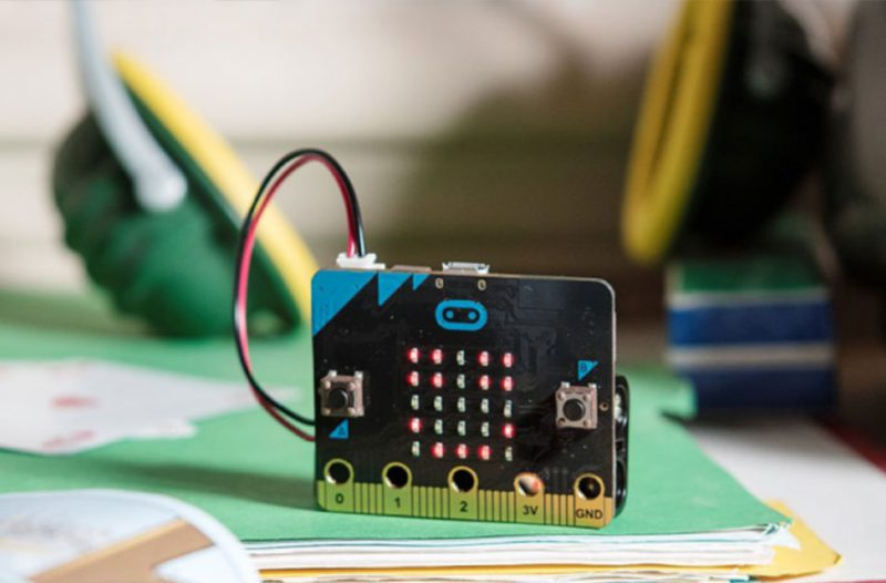 MicroBit computer chip