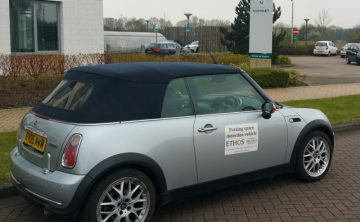 Ethos and Oxford Brookes smart parking partnership