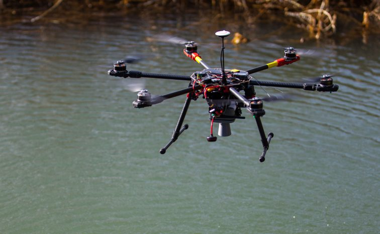 Can drones be used as part of an Internet of Things network?