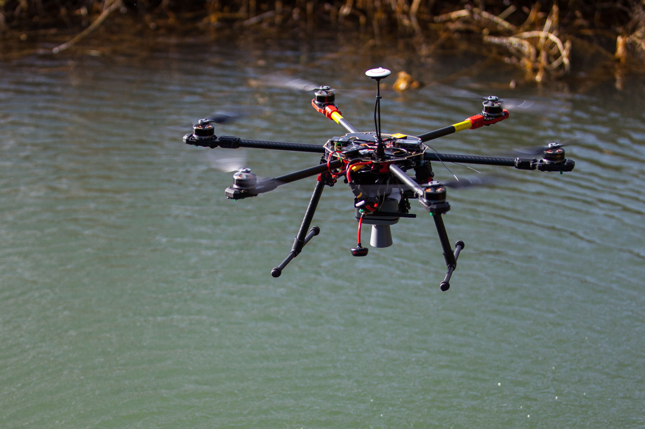 Can drones be used as part of an Internet of Things network