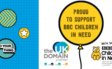 Nominet supports BBC Children in Need digital programmes with .UK domain registration donations