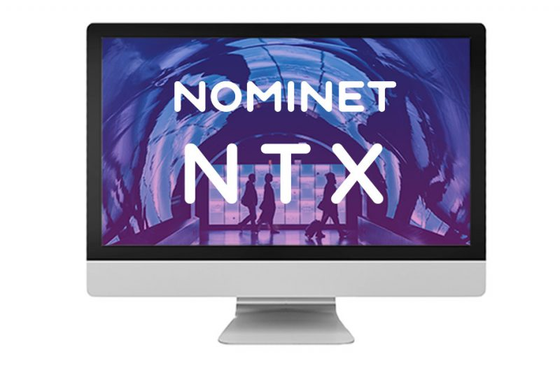 nominet NTX platform on screen