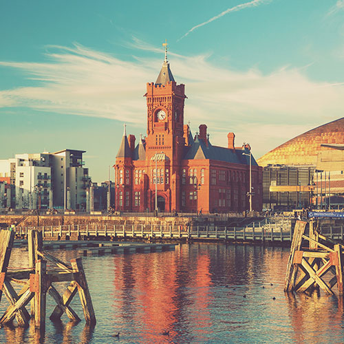 Welsh city