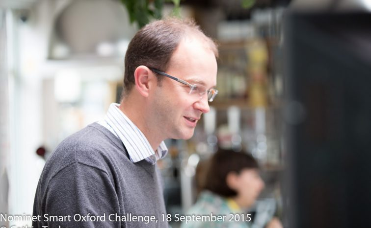 The Smart Oxford Challenge: innovative ideas for smarter cities
