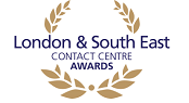London and South East Contact Centre Awards logo