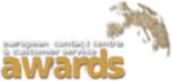 european contact centre customer service awards logo