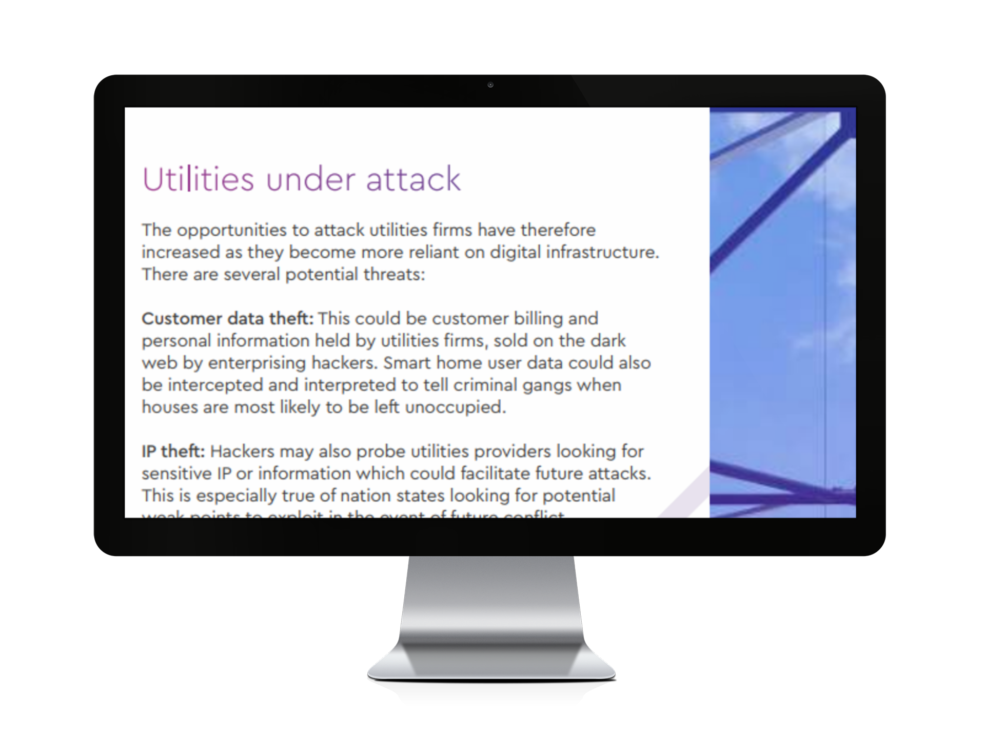 Protecting critical infrastructure: why utilities firms need to