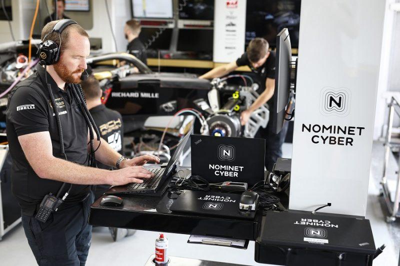 Haas F1 engineer