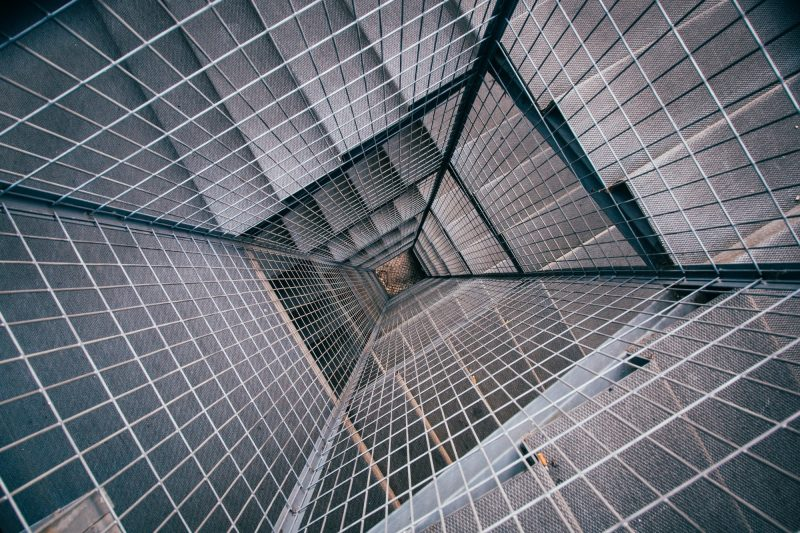 Grid of stairs
