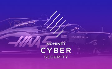 Haas F1 Team chooses Nominet to drive cyber security