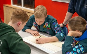 Scouts partner with Nominet to review and refresh its Digital Citizen Badge